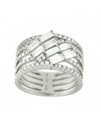 REMEMORA, anillo de oro blanco y diamantes
